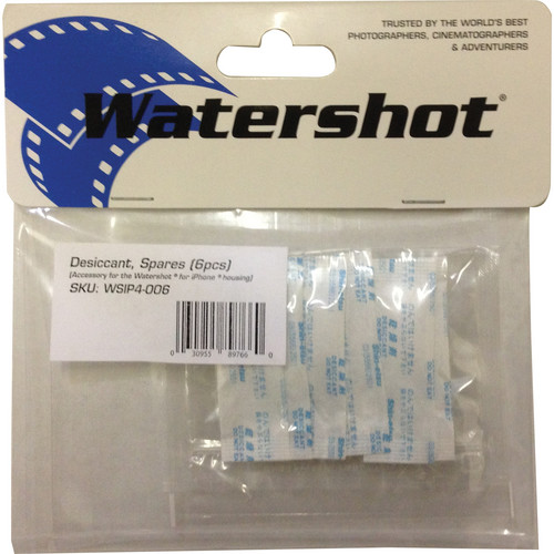 Watershot Desiccant Pack PRO (6-Pack)