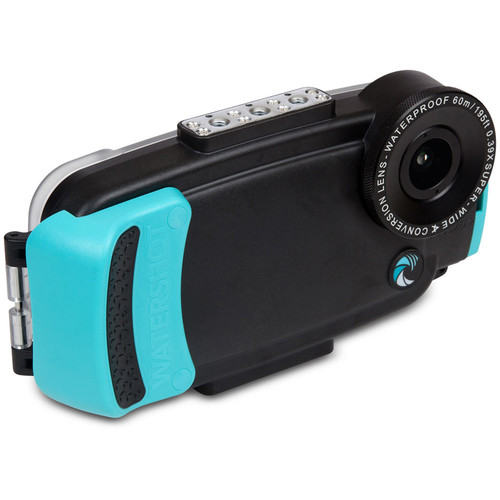 Watershot Pro Line Housing for iPhone 6/6s Plus (Black/Limpet Shell)