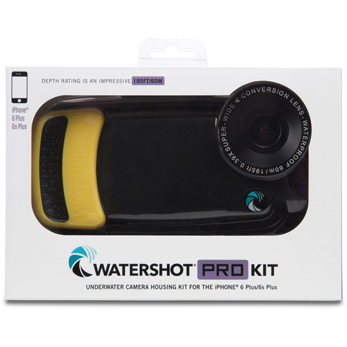 Watershot Pro Line Housing for iPhone 6/6s Plus (Black/Sunfish)