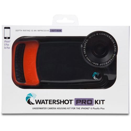 Watershot Pro Line Housing for iPhone 6/6s Plus (Black/Garibaldi)