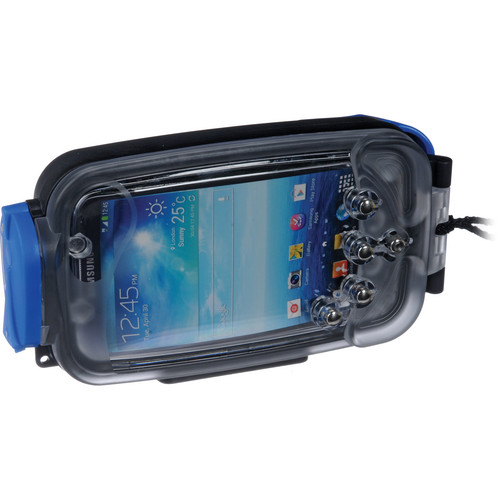 Watershot Underwater Housing for Samsung Galaxy SIII (Black with Blue Highlights)