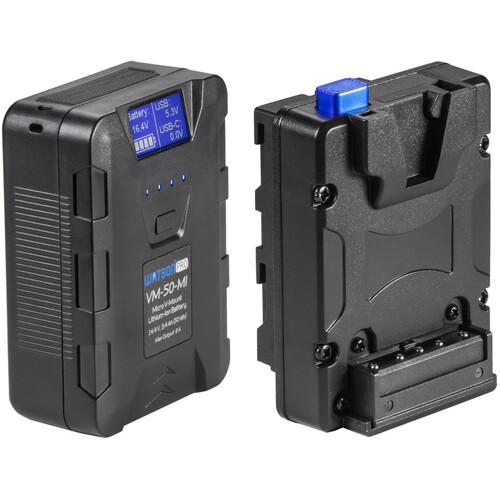 Watson 50Wh Micro V-Mount Battery & NP-F Adapter Kit