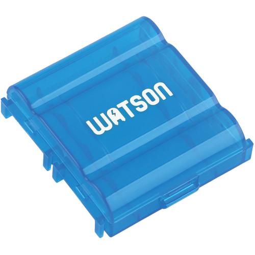 Watson 4 AA or AAA Battery Case (Blue)