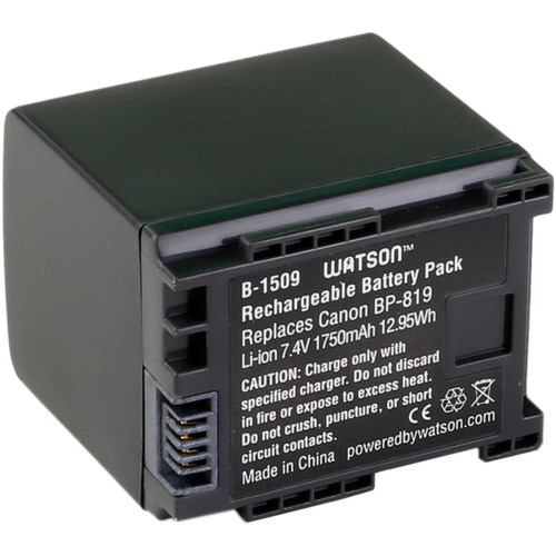 Watson BP-819 Lithium-Ion Battery Pack (7.4V, 1750mAh)