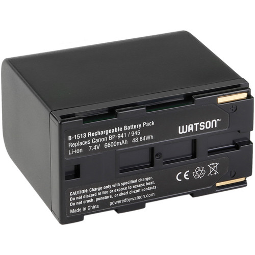Watson BP-945 Lithium-Ion Battery Pack (7.4V, 6600mAh)