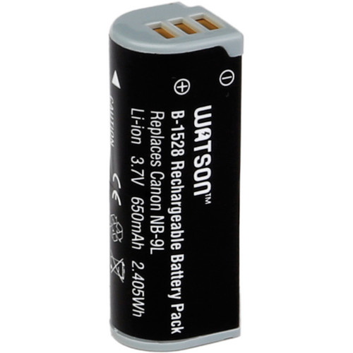Watson NB-9L Lithium-Ion Battery Pack (3.7V, 650mAh)