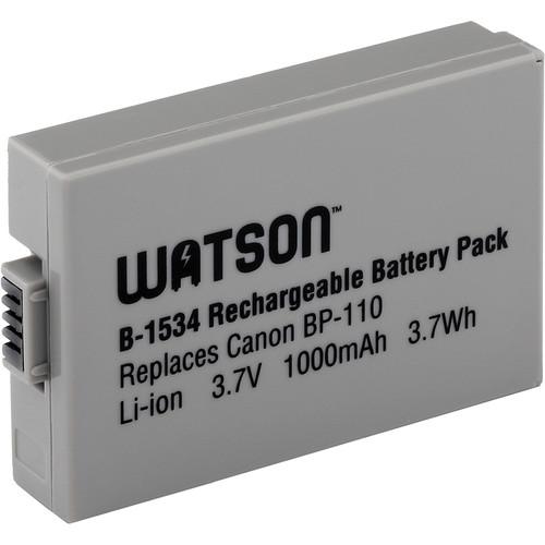 Watson BP-110 Lithium-Ion Battery (3.7V, 1000mAh)