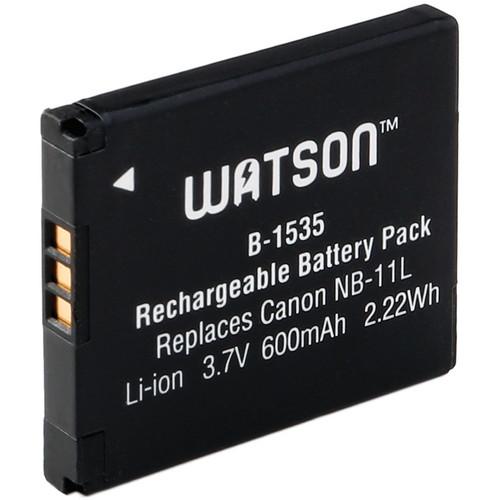 Watson NB-11L Lithium-Ion Battery Pack (3.7V, 600mAh)