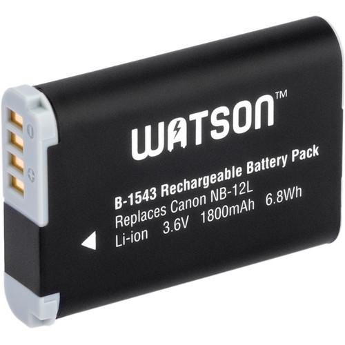 Watson NB-12L Lithium-Ion Battery Pack (3.6V, 1800mAh)