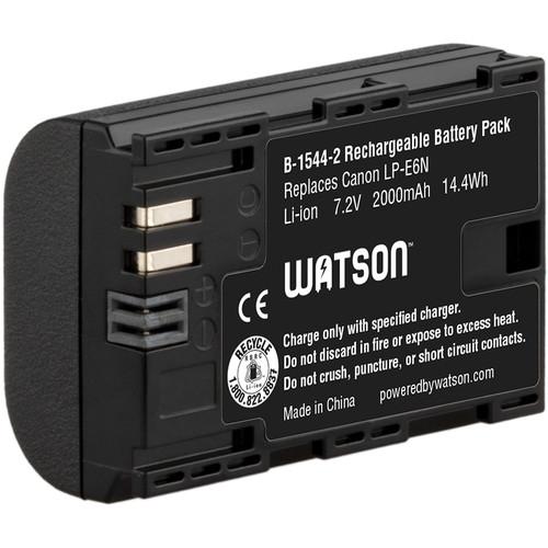 Watson LP-E6N Lithium-Ion Battery Pack (7.2V, 2000mAh)