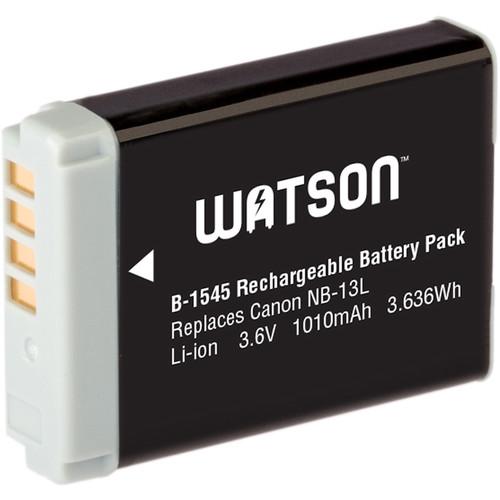 Watson NB-13L Lithium-Ion Battery Pack (3.6V, 1010mAh)