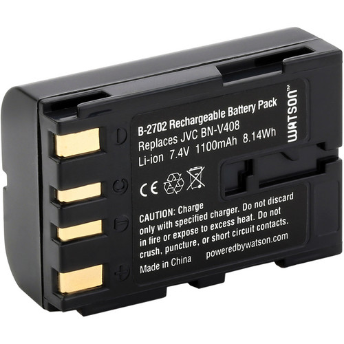 Watson BN-V408 Lithium-Ion Battery Pack (7.4V, 1100mAh)