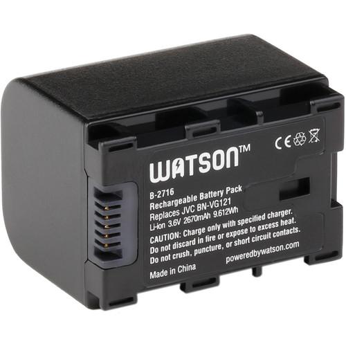 Watson BN-VG121 Lithium-Ion Battery Pack (3.6V, 2670mAh)
