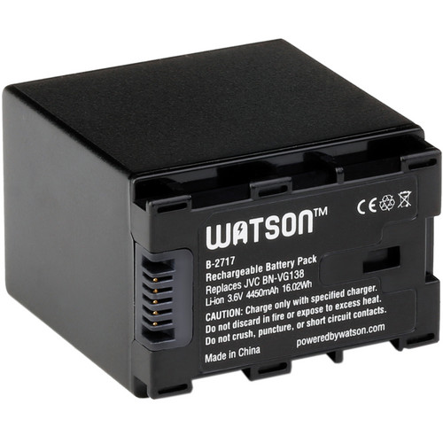 Watson BN-VG138 Lithium-Ion Battery Pack (3.6V, 4450mAh)