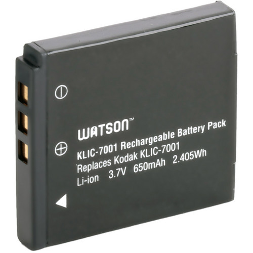 Watson KLIC-7001 Lithium-Ion Battery Pack (3.7V, 650mAh)