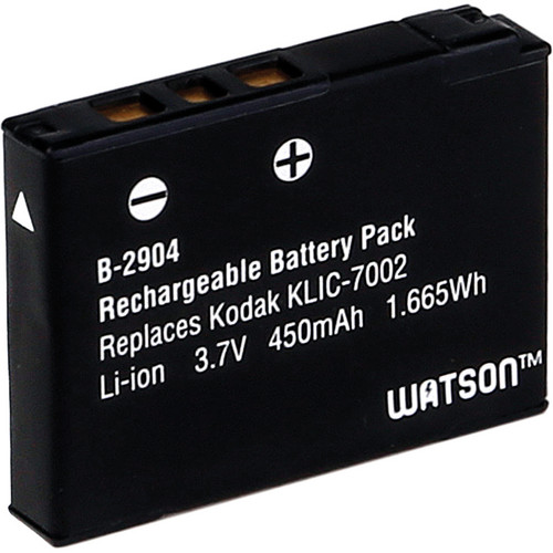 Watson KLIC-7002 Lithium-Ion Battery Pack (3.7V, 450mAh)