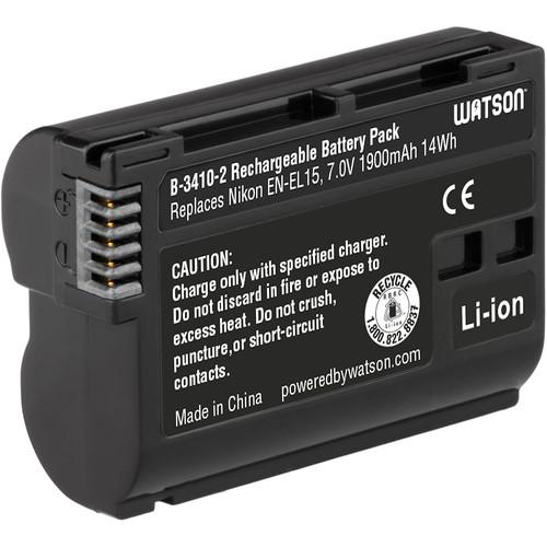Watson Watson EN-EL15 Lithium-Ion Battery Pack (7.0V, 1900mAh)