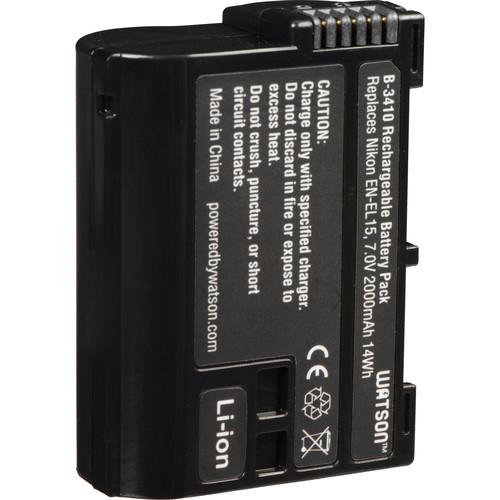 Watson EN-EL15 Lithium-Ion Battery Pack (7.0V, 2000mAh)