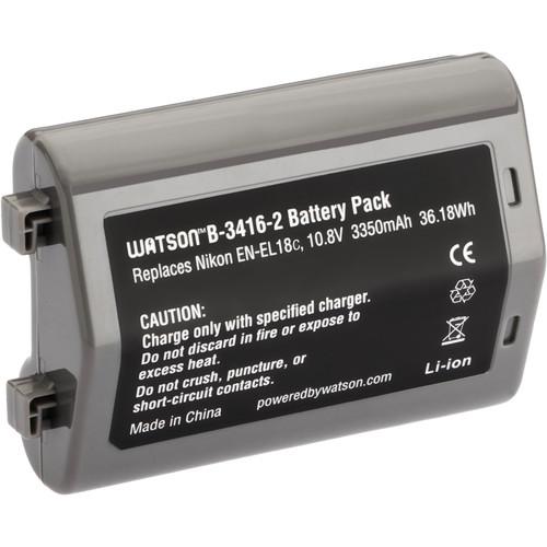 Watson EN-EL18C Lithium-Ion Battery Pack (10.8V, 3350mAh)