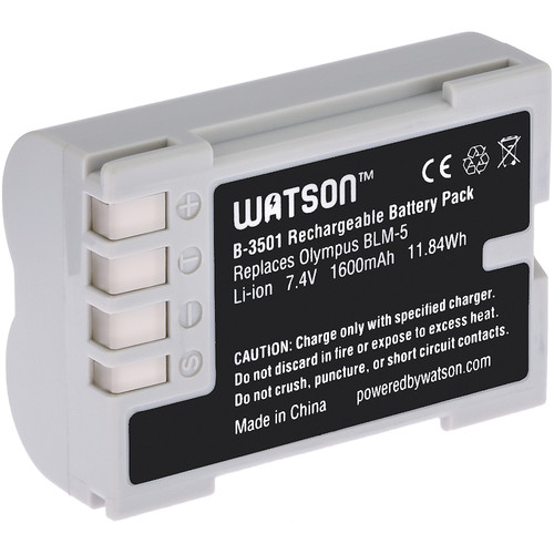 Watson BLM-5 Lithium-Ion Battery Pack (7.4V, 1600mAh)