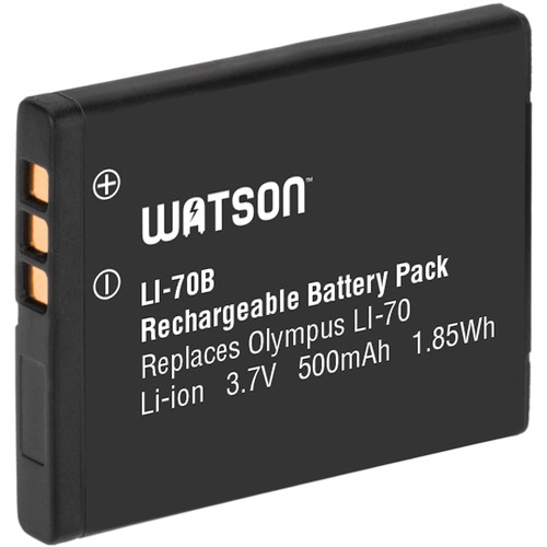 Watson LI-70B Lithium-Ion Battery Pack (3.7V, 500mAh)