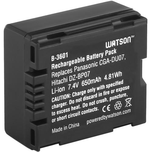 Watson CGA-DU07 Lithium-Ion Battery Pack (7.4V, 650mAh)