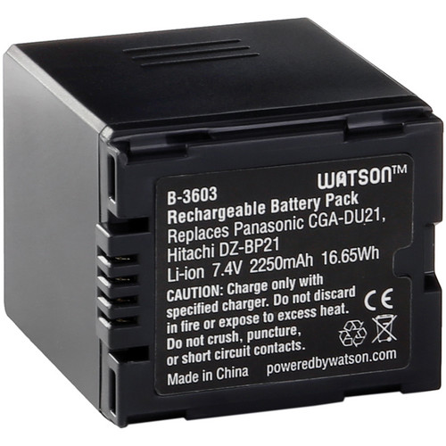 Watson CGA-DU21 Lithium-Ion Battery Pack (7.4V, 2250mAh)