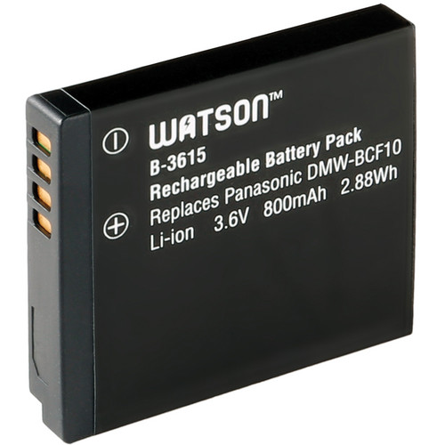Watson DMW-BCF10 Lithium-Ion Battery Pack (3.6V, 800mAh)