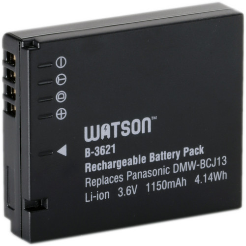 Watson DMW-BCJ13 Lithium-Ion Battery Pack (3.6V, 1150mAh)