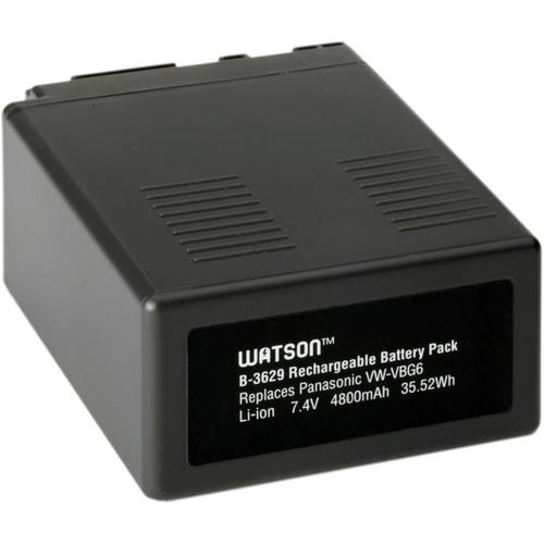 Watson VW-VBG6 Lithium-Ion Battery Pack (7.4V, 4800mAh)