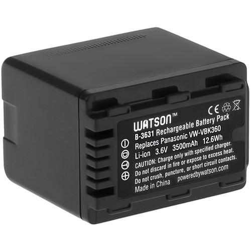 Watson VW-VBK360 Lithium-Ion Battery Pack (3.6V, 3500mAh)