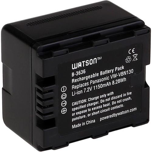 Watson VW-VBN130 Lithium-Ion Battery Pack (7.2V, 1150mAh)