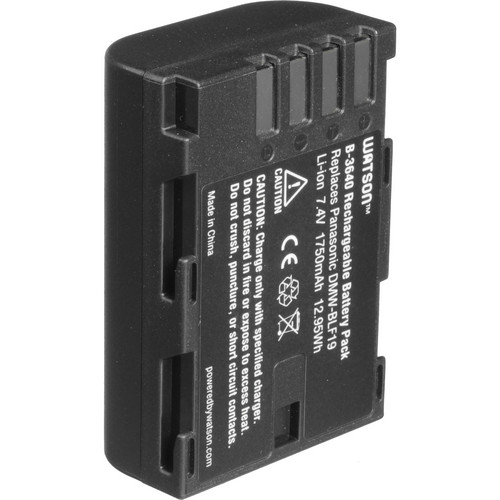 Watson DMW-BLF19 Lithium-Ion Battery Pack (7.4V, 1750mAh)