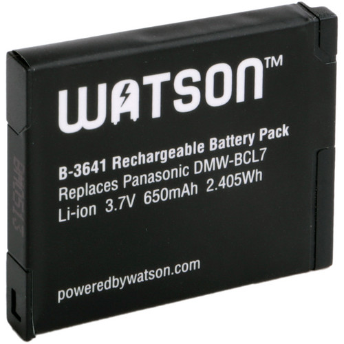 Watson DMW-BCL7 Lithium-Ion Battery Pack (3.7V, 650mAh)