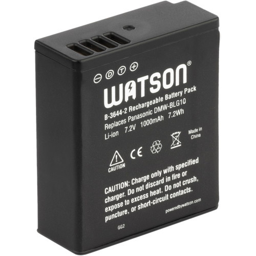 Watson DMW-BLG10 Lithium-Ion Battery Pack (7.2V, 1000mAh)