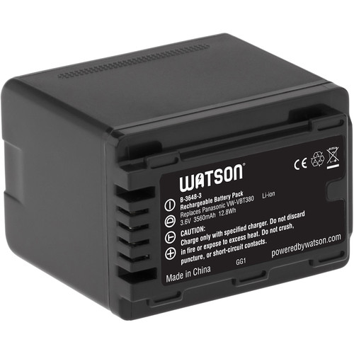 Watson VW-VBT380 Lithium-Ion Battery Pack