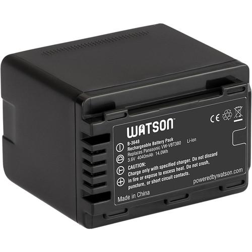Watson VW-VBT380 Lithium-Ion Battery Pack (3.6V, 4040mAh)