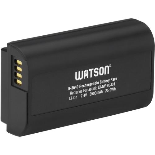 Watson DMW-BLJ31 Lithium-Ion Battery Pack (7.4V, 3500mAh, 25.9Wh)