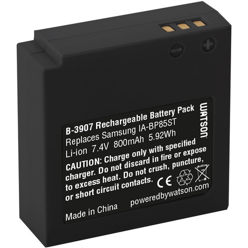 Watson IA-BP85ST Lithium-Ion Battery Pack (7.4V, 800mAh)