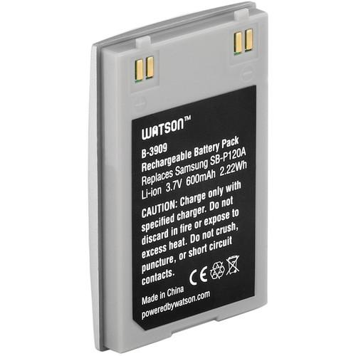 Watson SB-P120A Lithium-Ion Battery Pack (3.7V, 600mAh)