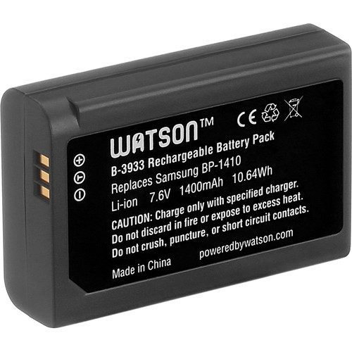 Watson BP-1410 Lithium-Ion Battery Pack (7.6V, 1400mAh)