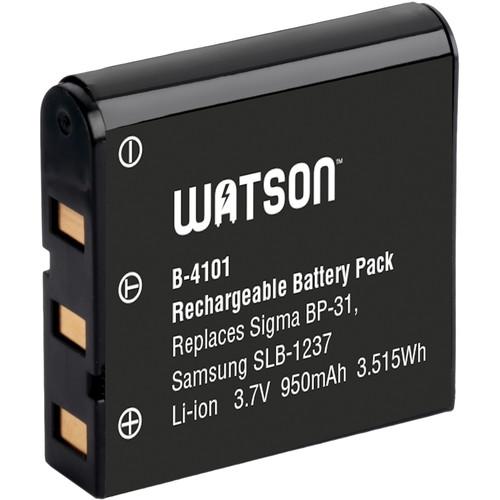 Watson BP-31 / SLB-1237 / EU-94 Lithium-Ion Battery Pack (3.7V, 950mAh)