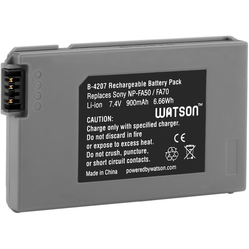 Watson NP-FA70 Lithium-Ion Battery Pack (7.4V, 900mAh)