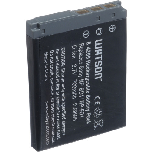 Watson NP-FD1 Lithium-Ion Battery Pack (3.7V, 700mAh)