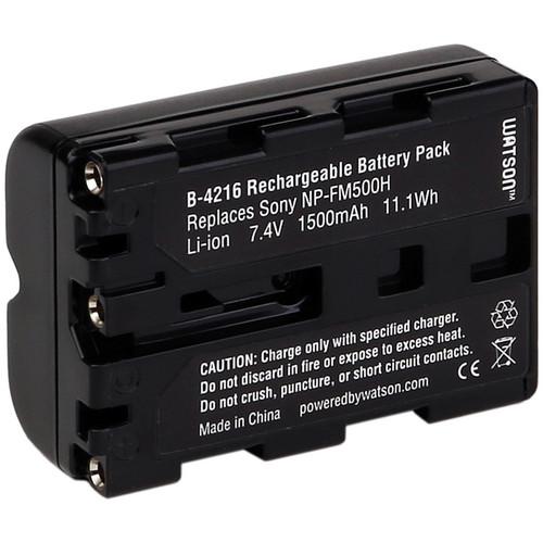 Watson NP-FM500H Lithium-ion Battery Pack (7.4V, 1500mAh)