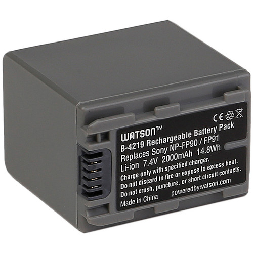 Watson NP-FP90 Lithium-Ion Battery Pack (7.4V, 2000mAh)