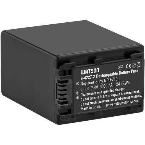 Watson NP-FV100 Lithium-Ion Battery Pack