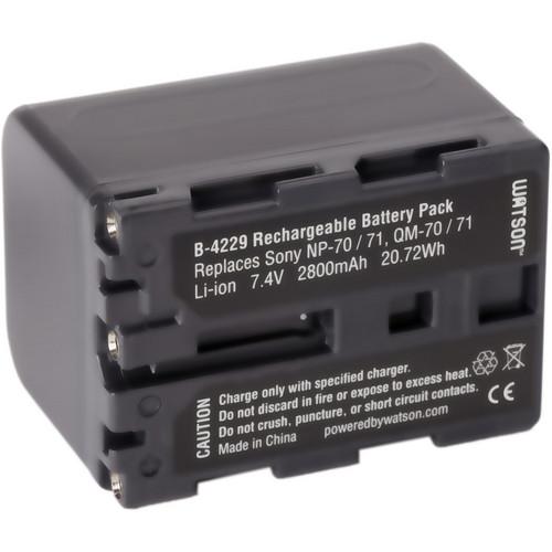 Watson NP-QM71D Lithium-Ion Battery Pack (7.4V, 2800mAh)