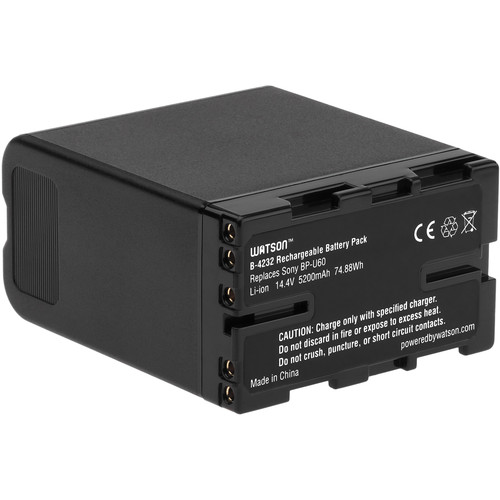 Watson BP-U60 Lithium-Ion Battery Pack (14.4V, 5200mAh)