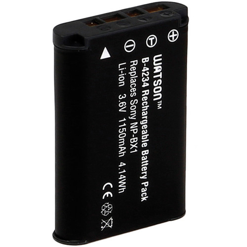 Watson NP-BX1 Lithium-Ion Battery Pack (3.6V, 1150mAh)